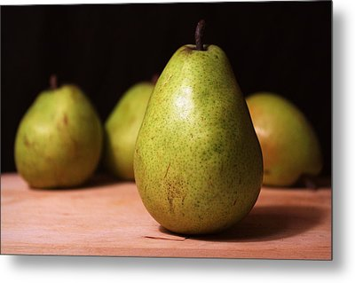 D'anjou Pears Metal Print