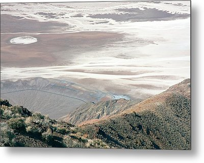 Metal Print featuring the photograph Dante's View #1 by Stuart Litoff