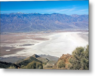 Metal Print featuring the photograph Dante's View #3 by Stuart Litoff