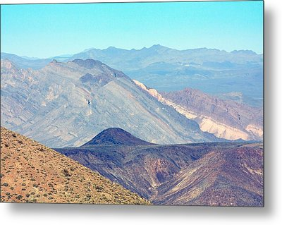 Metal Print featuring the photograph Dante's View #5 by Stuart Litoff