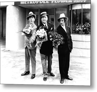 Dapper Dans Metal Print by The Three Stooges