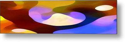 Dappled Light Panoramic 4 Metal Print by Amy Vangsgard