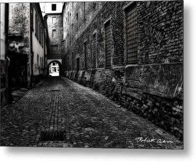 Dark Alley Metal Print