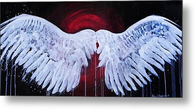 Dark Angel Metal Print by Stacey Pilkington-Smith