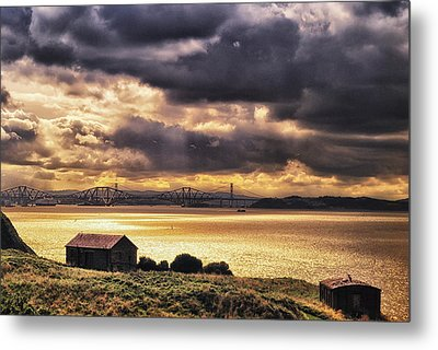 Dark Clouds Metal Print