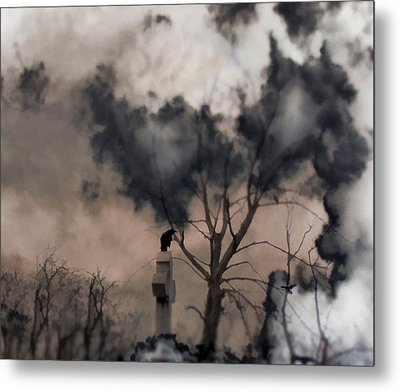 Dark Dream Metal Print by Gothicrow Images