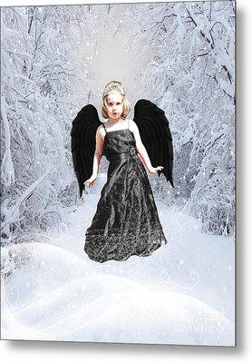 Dark Fairy Metal Print by ChelsyLotze International Studio