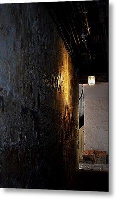 Secret Passage Metal Print by Nadalyn Larsen