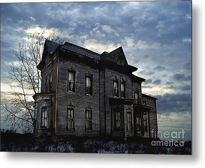 Dark Ruttle County Metal Print by Tom Straub