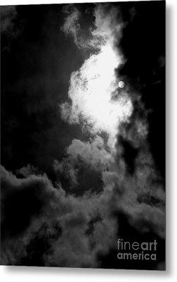 Dark Side Of The Sun Metal Print by Vicki Spindler