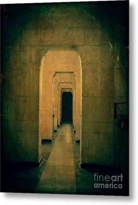 Dark Sinister Hallway Metal Print