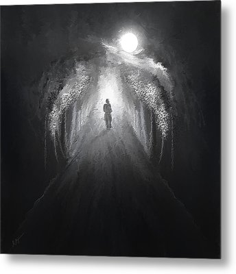 Dark To Light Metal Print by Lourry Legarde