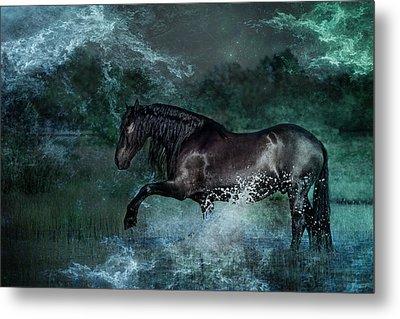 Dark Water Metal Print by Pamela Hagedoorn
