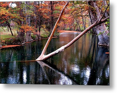 Metal Print featuring the photograph Dark Waters by David  Norman