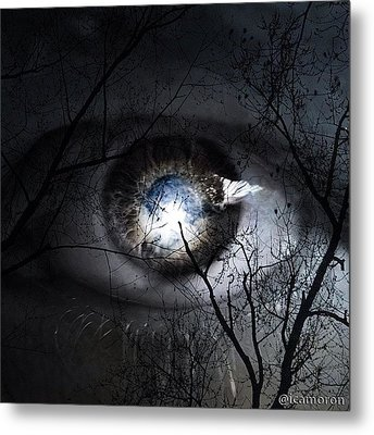 Darkness Falls Across The Land The Metal Print