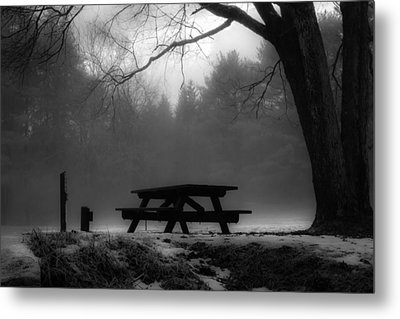Darkness Falls Metal Print by Anthony Thomas