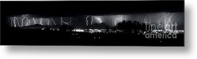 Metal Print featuring the photograph Darkness Symphony-15x72-signed by J L Woody Wooden
