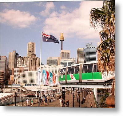 Darling Harbor Metal Print