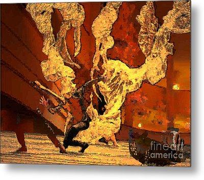 Darling Save The Last Waltz For Me Metal Print by Mojo Mendiola
