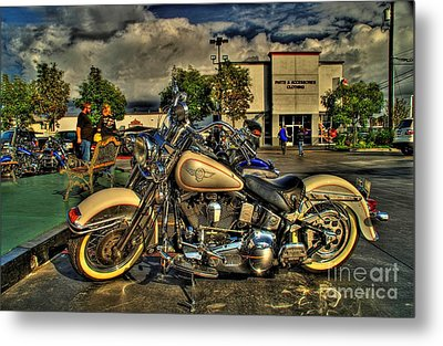Darrell Keller Memorial Bike Rally Metal Print