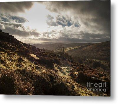 Dartmoor Drama Metal Print by Jan Bickerton