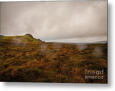 Dartmoor Rain Metal Print by Jan Bickerton