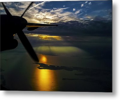 Dash Of Sunset Metal Print