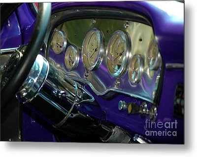 Metal Print featuring the photograph Dashboard Glam by Christiane Hellner-OBrien