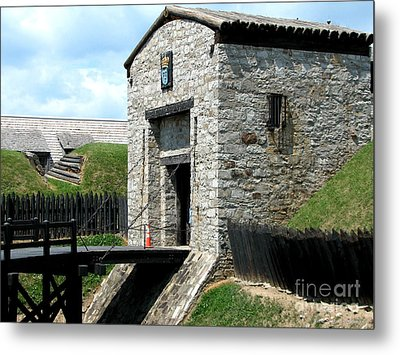 Dauphin Battery And Gate Of The Five Nations Old Fort Niagara 2 Metal Print by Rose Santuci-Sofranko