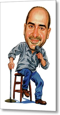 Dave Attell Metal Print by Art
