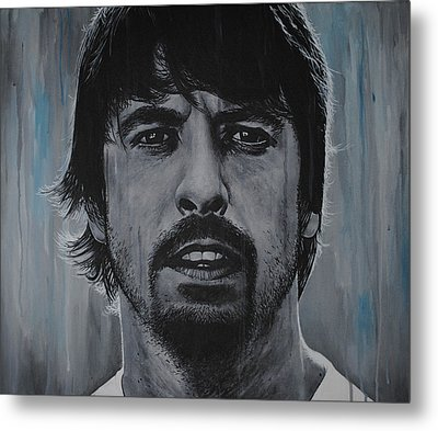 Dave Grohl Metal Print by David Dunne