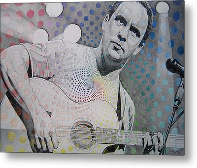 Dave Matthews All The Colors Mix Together Metal Print by Joshua Morton