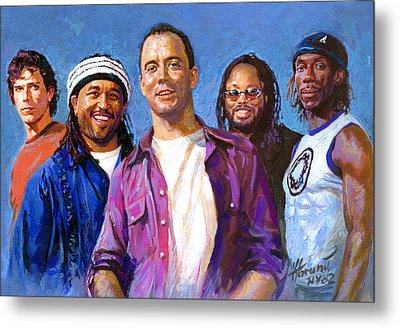 Dave Matthews Band Metal Print by Viola El
