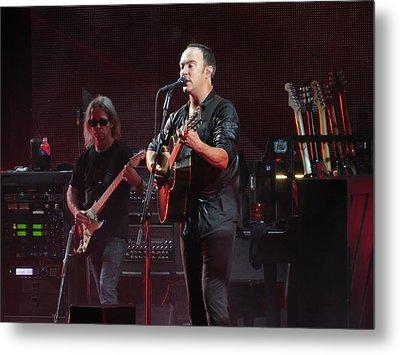 Dave Matthews Live Metal Print