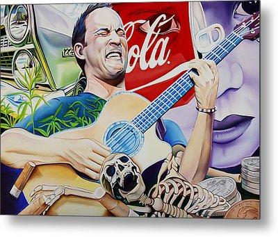 Dave Matthews Seek Up Metal Print