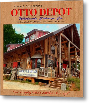 David B. Culpepper's Otto Depot 2 Metal Print by Robert J Sadler