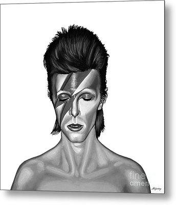 David Bowie Aladdin Sane Metal Print