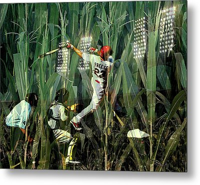 David Freese Metal Print by John Freidenberg