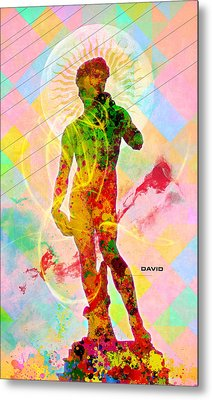 David Metal Print by Gary Grayson