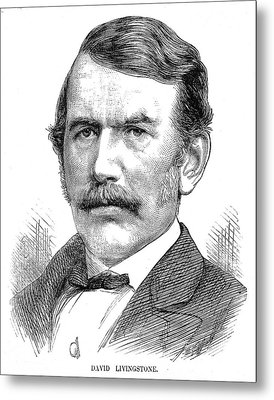 David Livingstone Metal Print by Collection Abecasis
