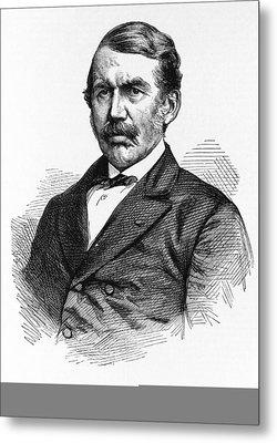David Livingstone, Scottish Explorer Metal Print by Science Photo Library