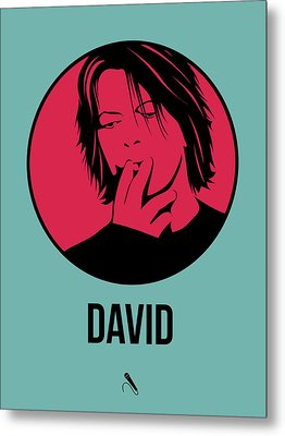 David Poster 3 Metal Print by Naxart Studio