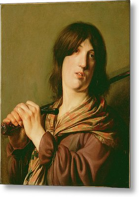 David With His Sword Salomon De Bray, Dutch Metal Print