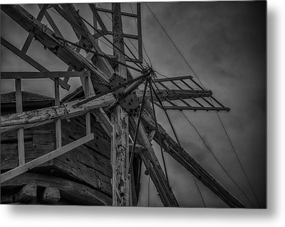 Davidson Windmill Metal Print by Paul Freidlund