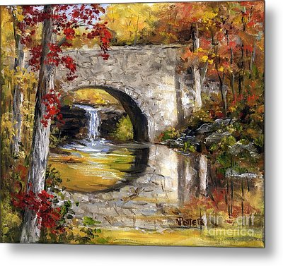 Davies Bridge November Metal Print