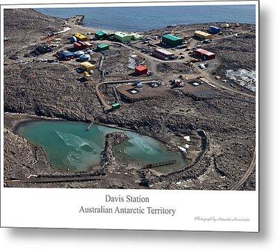 Davis Station 2 Metal Print by David Barringhaus