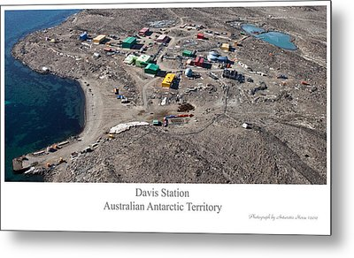 Davis Station 2012 Metal Print by David Barringhaus