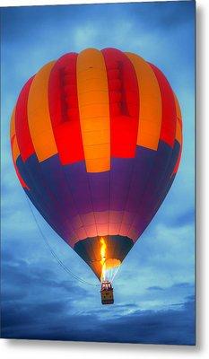 Dawn Ascension - Hot Air Balloon Metal Print by Nikolyn McDonald