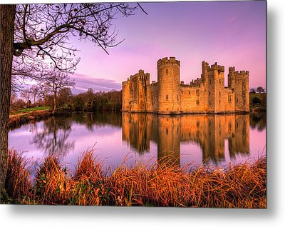 Dawn At Bodiam Metal Print