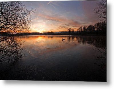 Dawn At Haysden Metal Print
